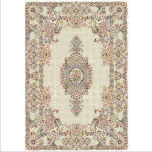 فرش ۱۰۰۰ شانه تارا طرح گل و بوته