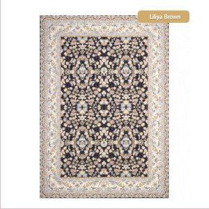 فرش ماشینی۱۲۰۰شانه۳۶۰۰تراکم طرح لیلیا شیراز