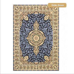 فرش ماشینی۱۲۰۰شانه۳۶۰۰تراکم طرح ویشکا شیراز