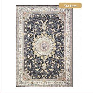 فرش ماشینی۱۲۰۰شانه۳۶۰۰تراکم طرح یاس شیراز