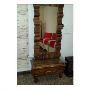 آینه آنتیک چوبی کد ۵۰۷