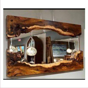 آینه آنتیک چوبی کد ۵۰۶