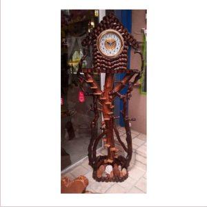 ساعت آنتیک چوبی کد ۵۰۵