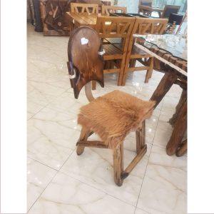 صندل آنتیک چوبی کد ۵۰۴