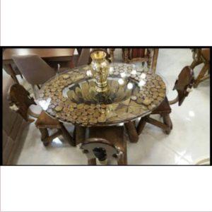 میز آنتیک چوبی کد ۵۱۵