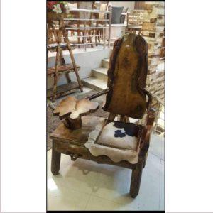 صندل آنتیک چوبی کد ۵۱۴