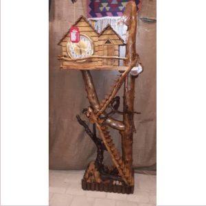 ساعت آنتیک چوبی کد ۵۱۲