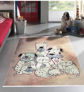 فرش کودک طرح کارتون کد100279