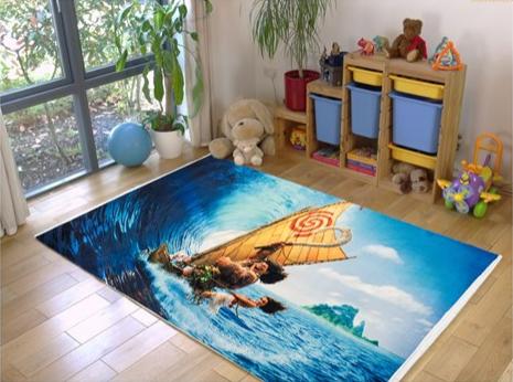 فرش کودک طرح کارتون کد 100204