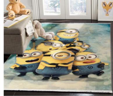 فرش کودک طرح کارتون کد 100243