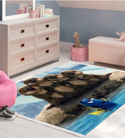 فرش کودک طرح کارتون کد 100229