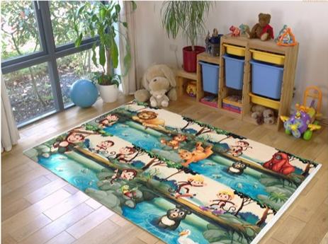 فرش کودک طرح کارتون کد 100217