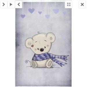 فرش کودک طرح کارتون کد100284