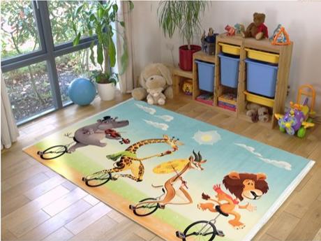 فرش کودک طرح کارتون کد 100213