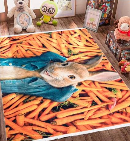 فرش کودک طرح کارتون کد 100219