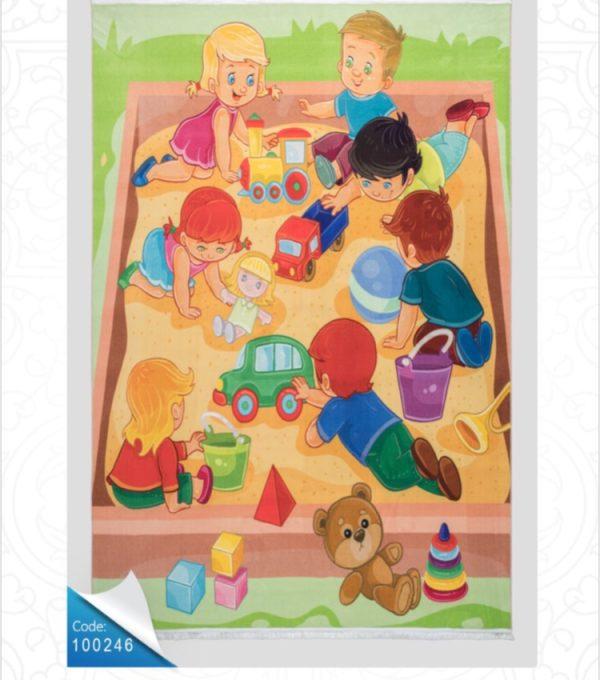 فرش کودک طرح کارتون کد 100246