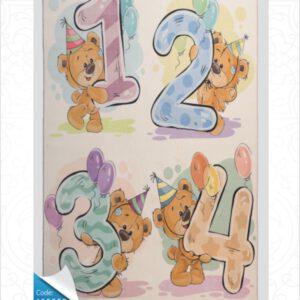 فرش کودک طرح کارتون کد 100239