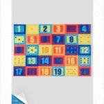 فرش کودک طرح کارتون کد 100255