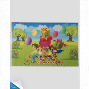 فرش کودک طرح کارتون کد 100249