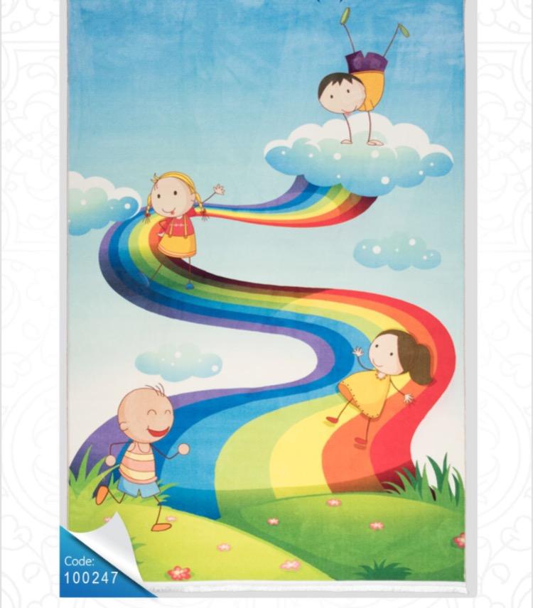 فرش کودک محتشم طرح کارتون کد 100247