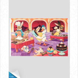 فرش کودک طرح کارتون کد 100211