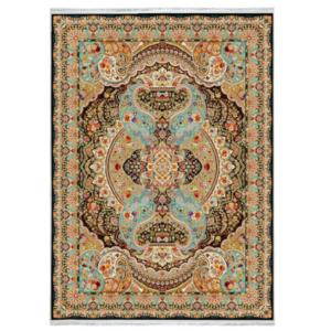 فرش محتشم کلاسیک طرح اهورا