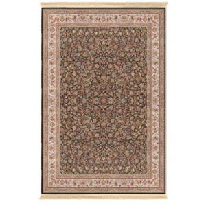 فرش محتشم کلاسیک طرح گل و مرغ