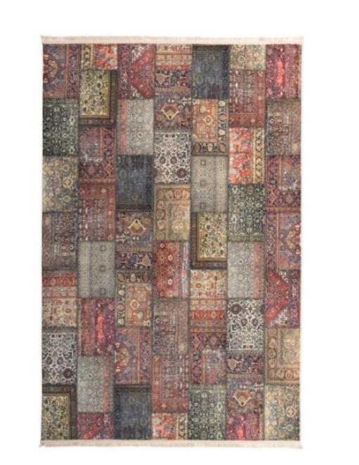 فرش محتشم طرح سنتی کد 100500
