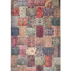 فرش محتشم طرح سنتی کد 100501