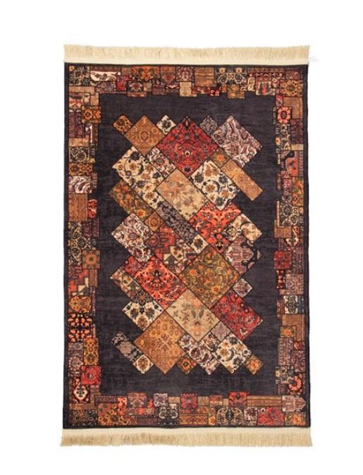 فرش محتشم طرح سنتی کد 100510