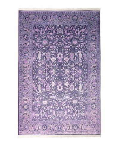 فرش محتشم طرح کهنه نما کد 100600