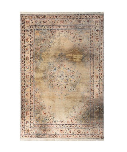 فرش محتشم طرح کهنه نما کد 100607