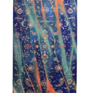 فرش محتشم طرح کهنه نما کد 100614
