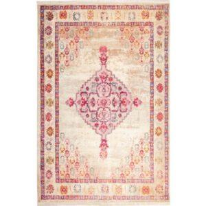 فرش محتشم طرح کهنه نما کد 100617