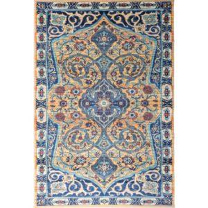 فرش محتشم طرح کهنه نما کد 100622