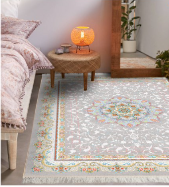 فرش محتشم کلاسیک طرح صنوبر