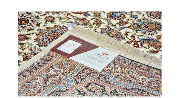 فرش سهند کلاسیک زمینه کرم کد VF17.v5