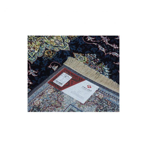 فرش سهند کلاسیک زمینه سرمه ای کد VF20.dk
