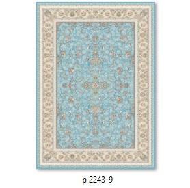 فرش 700شانه گل برجسته بهشتی طرح پرنسا کدP2243_9