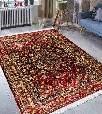 فرش محتشم طرح کهنه نما کد 100647