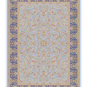 فرش 1500 شانه تمام ابریشم دستکار کد 150017