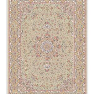 فرش 1500 شانه تمام ابریشم دستکار کد 15002