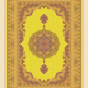 فرش 1600 شانه مشهد اردهال تمام ابریشم کد16037