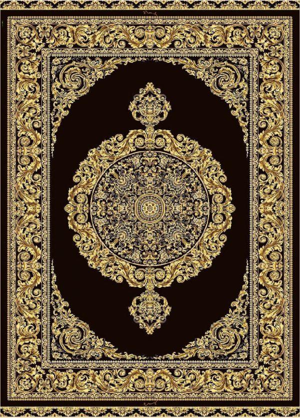 فرش 1600 شانه مشهد اردهال تمام ابریشم کد16043