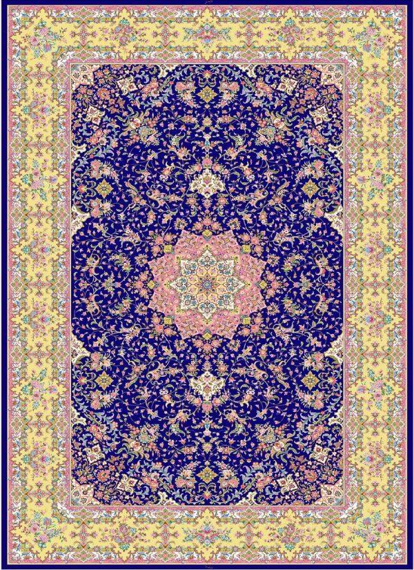 فرش 1600 شانه مشهد اردهال تمام ابریشم کد 16060