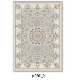فرش 700شانه گل برجسته بهشتی طرح پرنسا کدP2261_9