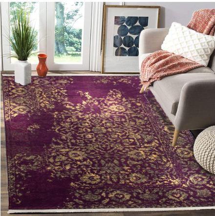 فرش محتشم طرح کهنه نما کد 100601