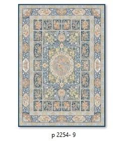فرش 700شانه گل برجسته بهشتی طرح پرنسا کدP2254_9