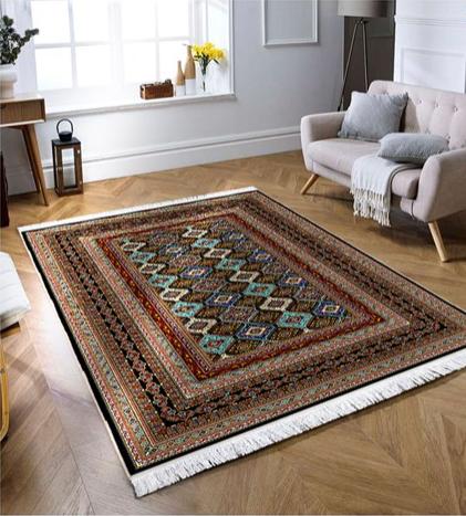 فرش محتشم طرح سنتی کد 100331