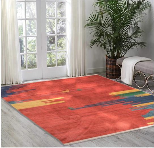 فرش محتشم طرح سنتی کد 100302